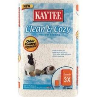 Kaytee Clean & Cozy Bedding 500cu in (White)