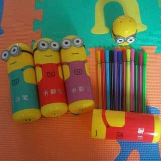 Goodie bag - Minions colour pen