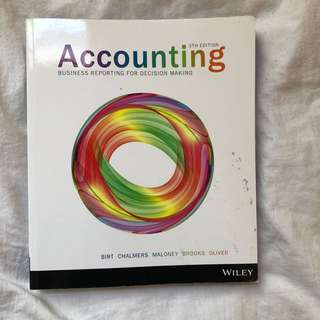 Accounting- business reporting for decision making 5th edition Wiley