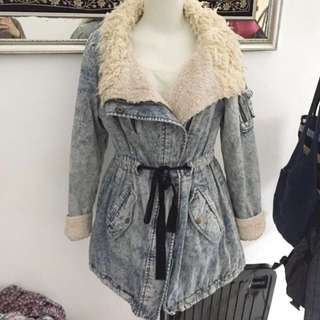 Denim coat jacket SALE