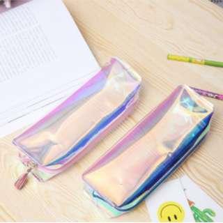 PO Holographic Pencil Case