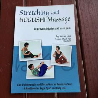 Massage and stretching book