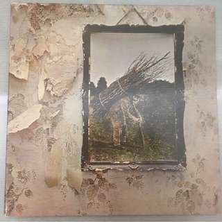 "Led Zeppelin, Led Zeppelin IV, Vinyl LP, Monarch 1st Press ""porky pecko duck"", Atlantic SD 7208, 1971 USA"