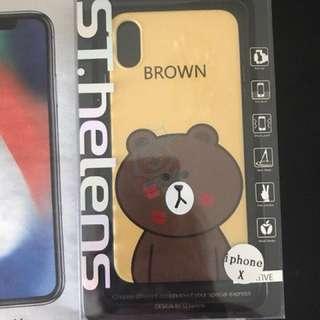 Line 熊I phone x 手機殼