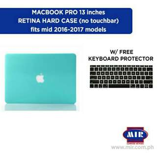 Macbook Pro 13 inch 2017 model Tiffany Blue Hard Case with free keyboard protector