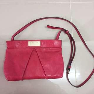 MBMJ sling leather bag
