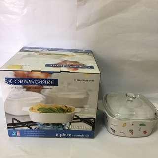 Corningware corelle dinnerware 6 pieces casserole set