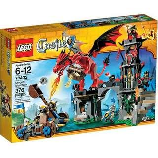 全新Lego 70403 Dragon Mointain