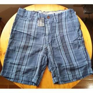 Polo Ralph Lauren Men's Shorts - US32 - Blue plaid