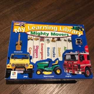 Children books- mini mighty movers
