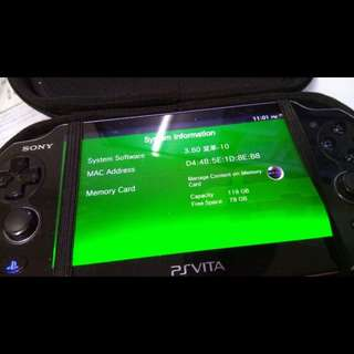 Sony PS Vita Wifi henkaku enso 3.60 with 32GB sd2vita