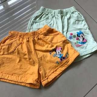 Disney 3yr old shorts