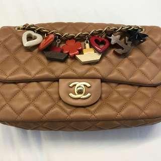 Chanel Cruise Charm Flap Bag
