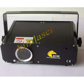 1W 2D+3D+SD card ILDA RGB laser light projector/1W全彩激光燈/舞檯燈