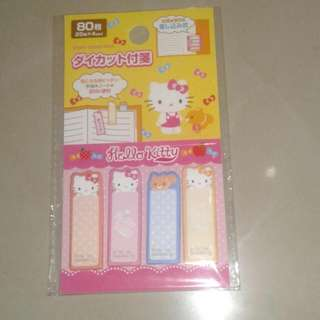 Hello Kitty sticky notes 4 designs
