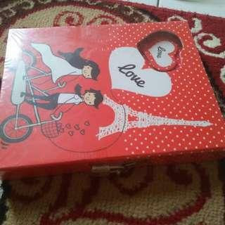 Buku diary gembok