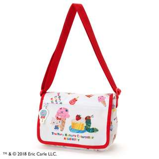 Japan Sanrio Hello Kitty × The Very Hungry Caterpillar Kids' Shoulder Bag (Sweets)