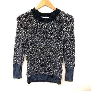 3.1 Phillip Lim blue and white sweater size XS