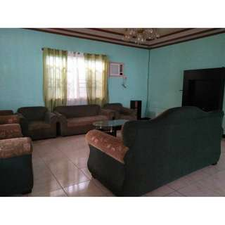 House and Lot for Rent  Located at 14-34 1st St. Villasol Angeles City