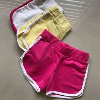 1-2urs old shorts
