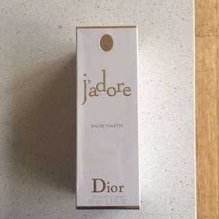 Christian Dior eau de toilette j'adore 50ml