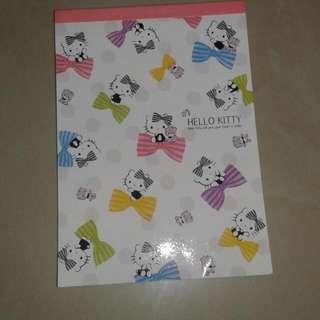 Hello Kitty & My Melody Notepad