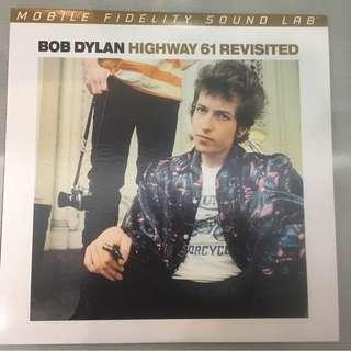 Bob Dylan – Highway 61 Revisited, 2x Vinyl LP, Limited Edition No. 002927, Mobile Fidelity Sound Lab – MFSL-2-422, 2014, USA