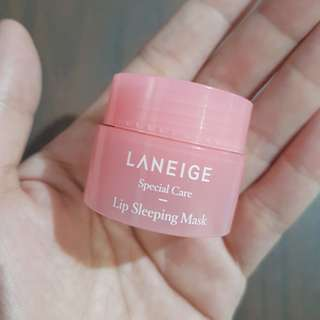 Laneige Lip Sleeping Mask Deluxe Sample