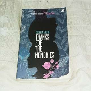 NOVEL Thanks For The Memories - Cecilia Ahern