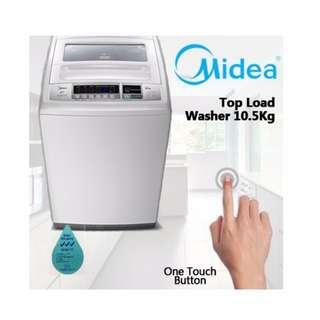 Midea MT1008W 10.5KG Top Load Washing Machine