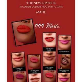 Brand new rouge Dior 999 MATTE