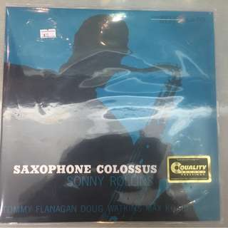 Sonny Rollins ‎– Saxophone Colossus, Vinyl LP, Analogue Productions ‎– APRJ 7079, 2012, USA