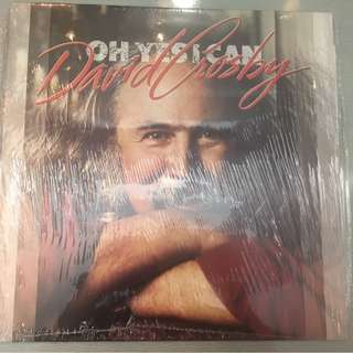 David Crosby ‎– Oh Yes I Can, Brand New Vinyl LP, A&M Records ‎– AMA 5232, 1989, UK