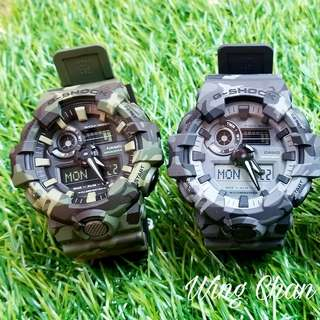 CASIO G-SHOCK WATCH GA-700CM-2A/3A/8A