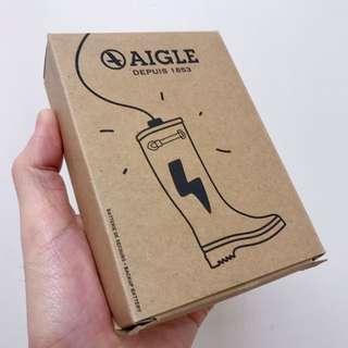 AIGLE靴型充電器 (2500mAh,全新)