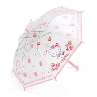 Japan Sanrio Hello Kitty Kids Clear Umbrella (Berry)