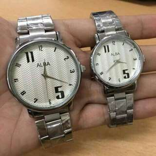 Alba couple watch