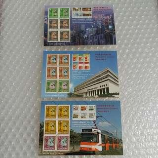 前香港郵票(香港經典郵票第七輯,,八輯,九輯)