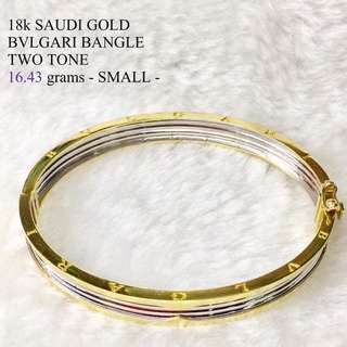 18KARAT GOLD BVLGARI BANGLE