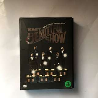 BEAST BEAUTIFUL SHOW IN SEOUL LIVE DVD