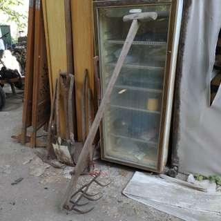鐵耙;蜈蚣耙—早期臺灣農具收藏