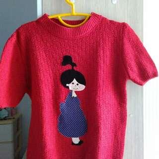 Atasan knit/rajut