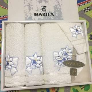 MARTEX 3 Pc Towel Set