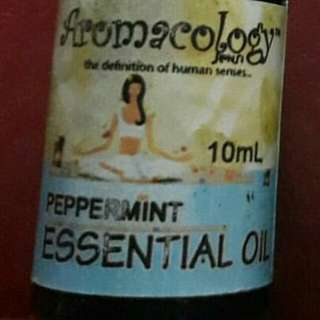 Aromacology Essential Oils: Peppermint Oil