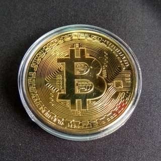 BITCOIN (Gold Plated)