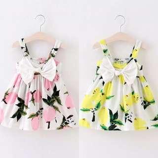 Little baby floral dress