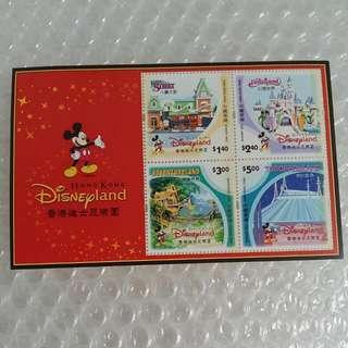 香港郵票(香港迪士尼樂園)