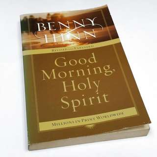 2004 Benny Hinn: Good Morning, Holy Spirit Christian Paperback Book Cheap Sale! Used!