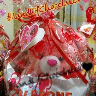 Valentines gift bear