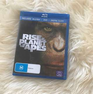 Rise of the planet of the apes blueray